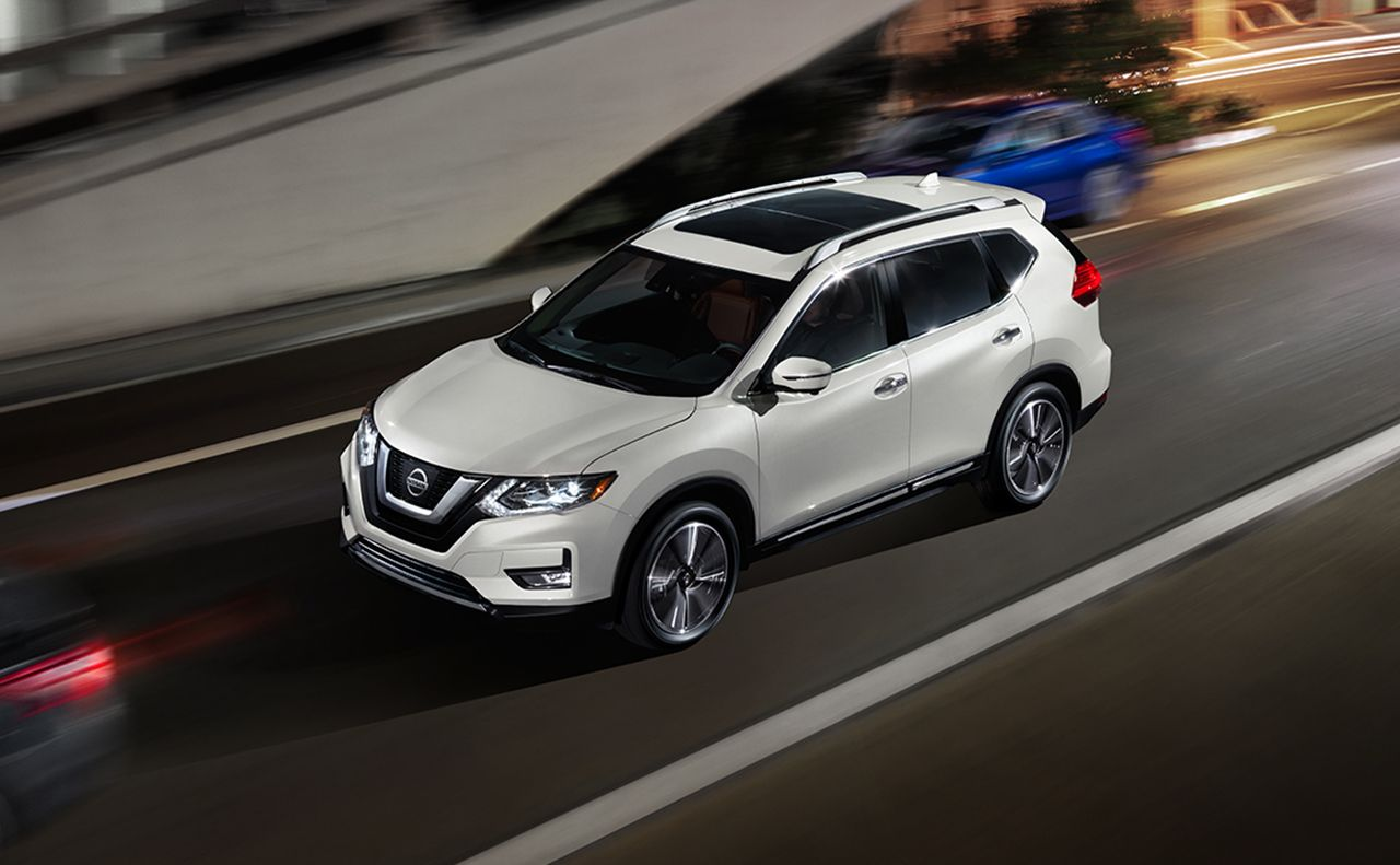 2017 nissan rogue exterior white doors sunroof