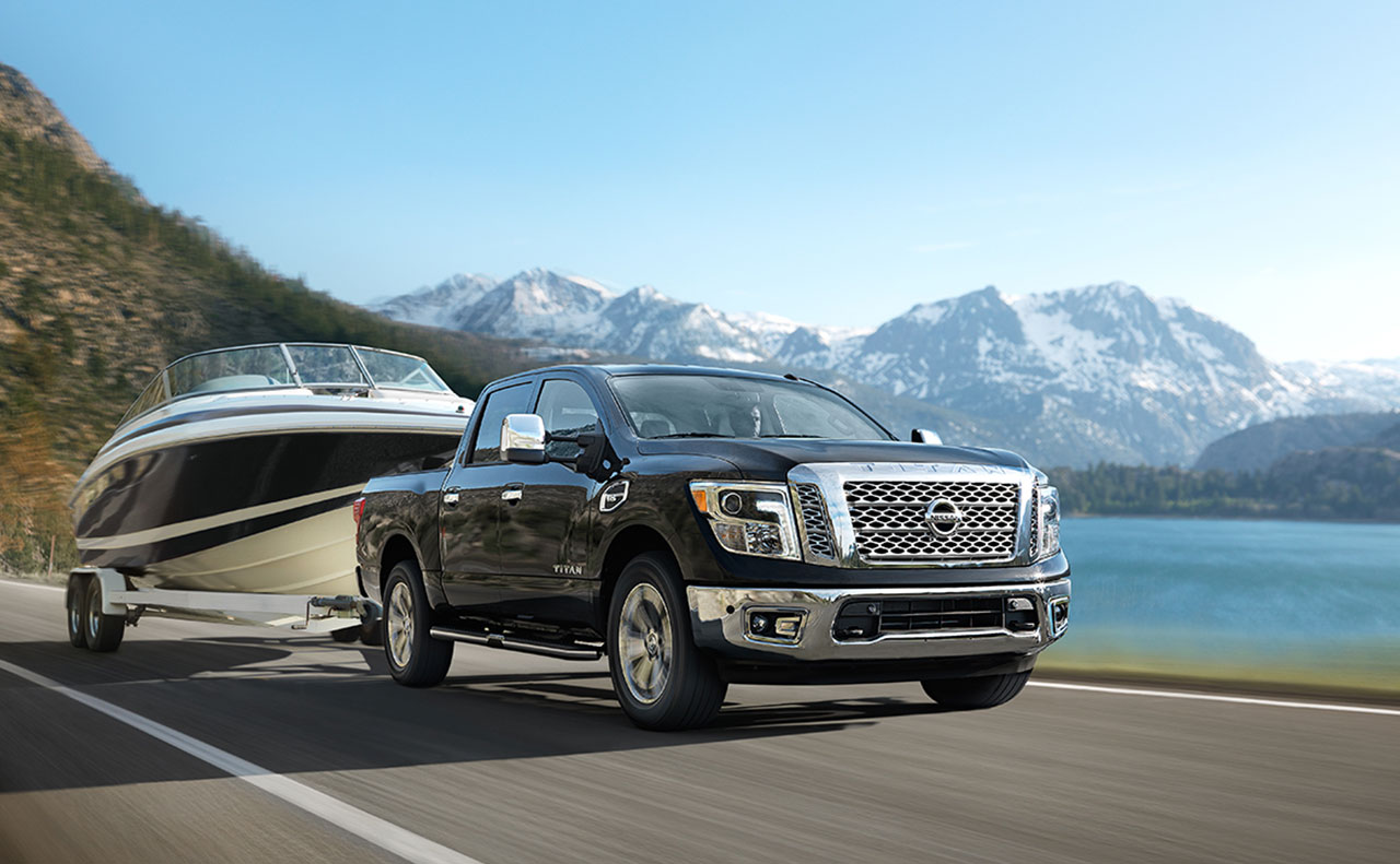2017 nissan titan exterior tow boat road pulling heavy duty