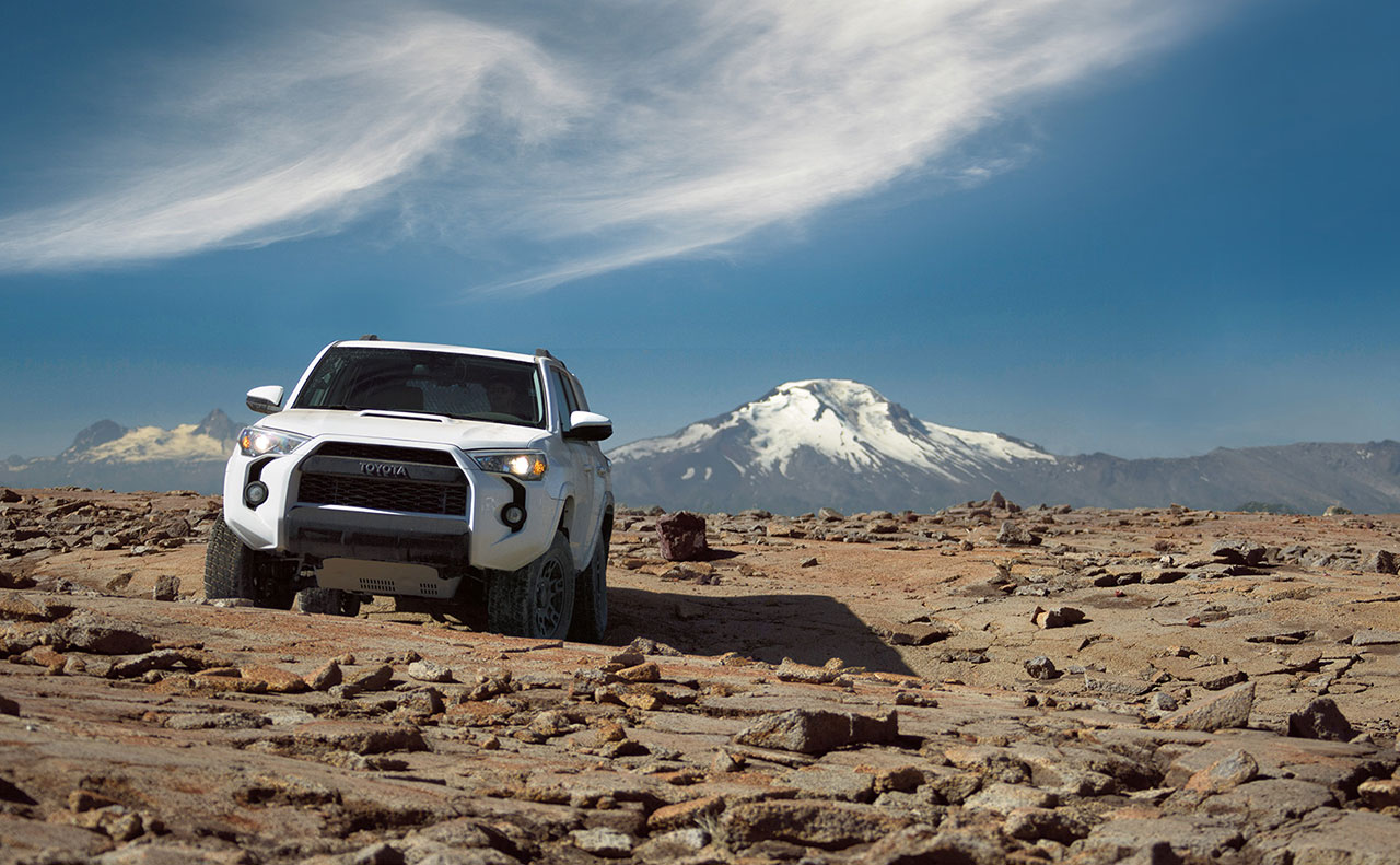 2016 toyota 4runner exterior white mountain drive
