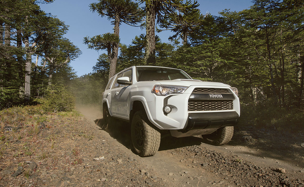 2016 toyota 4runner exterior white off road