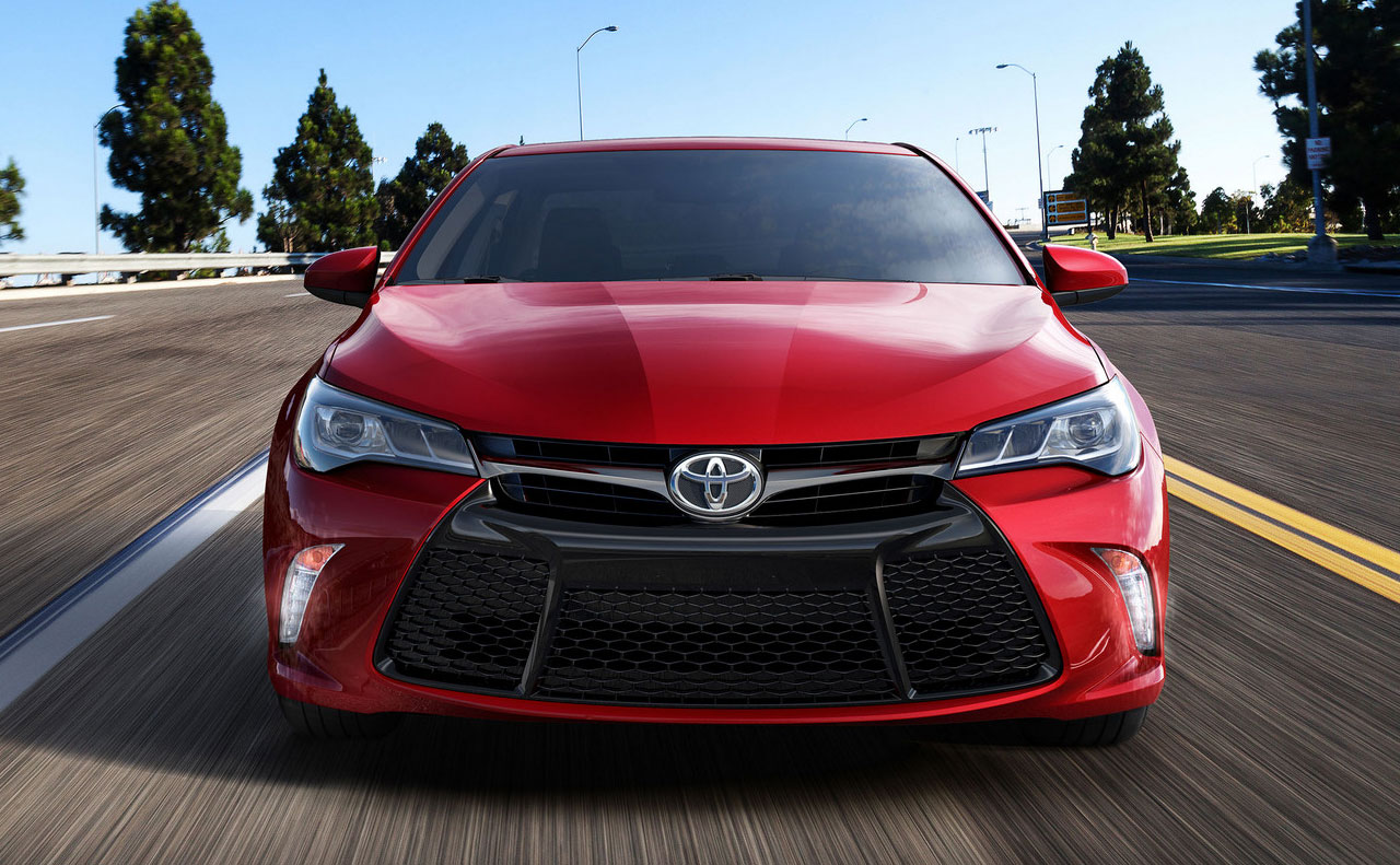 2016 toyota camry exterior recd hood motion