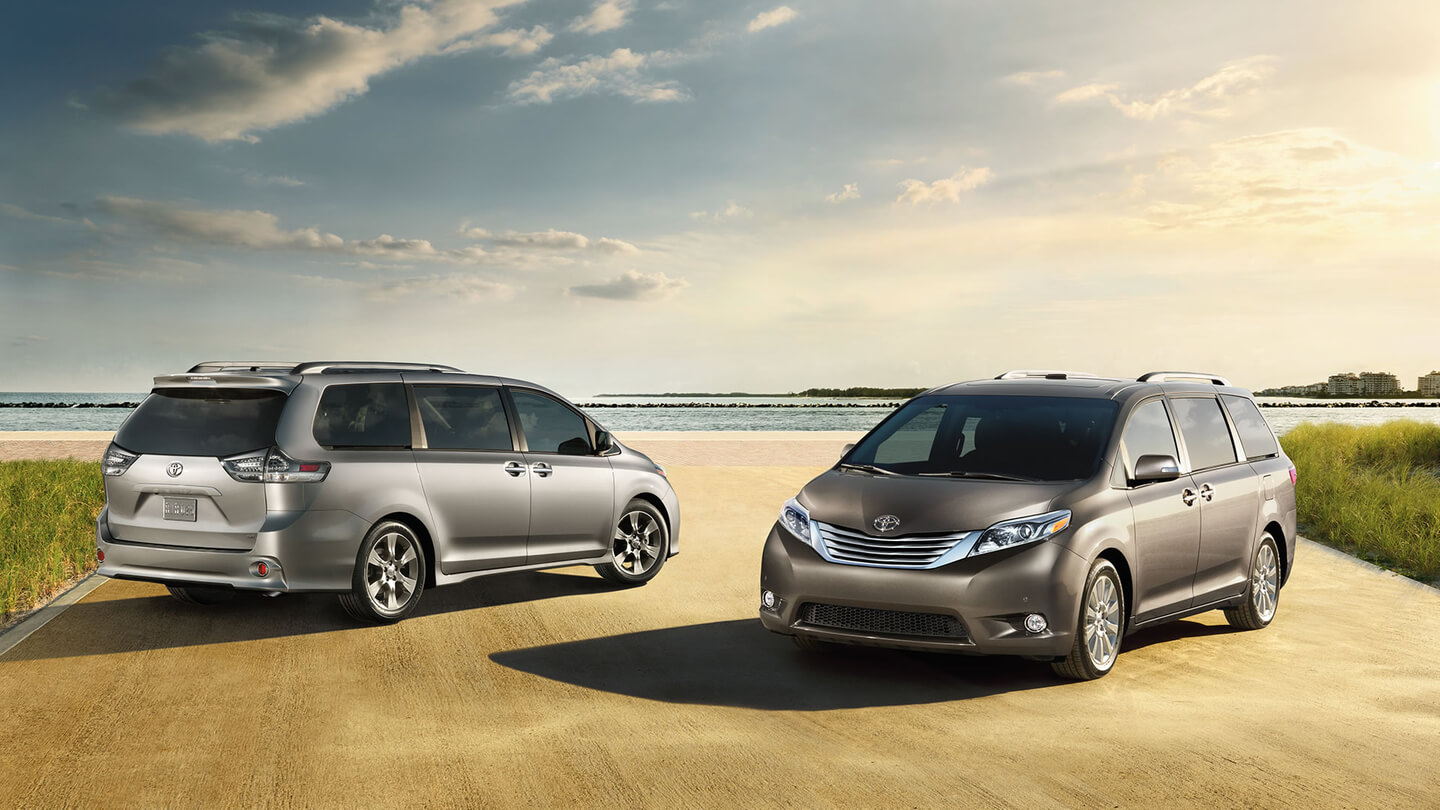 2016 toyota sienna side by side