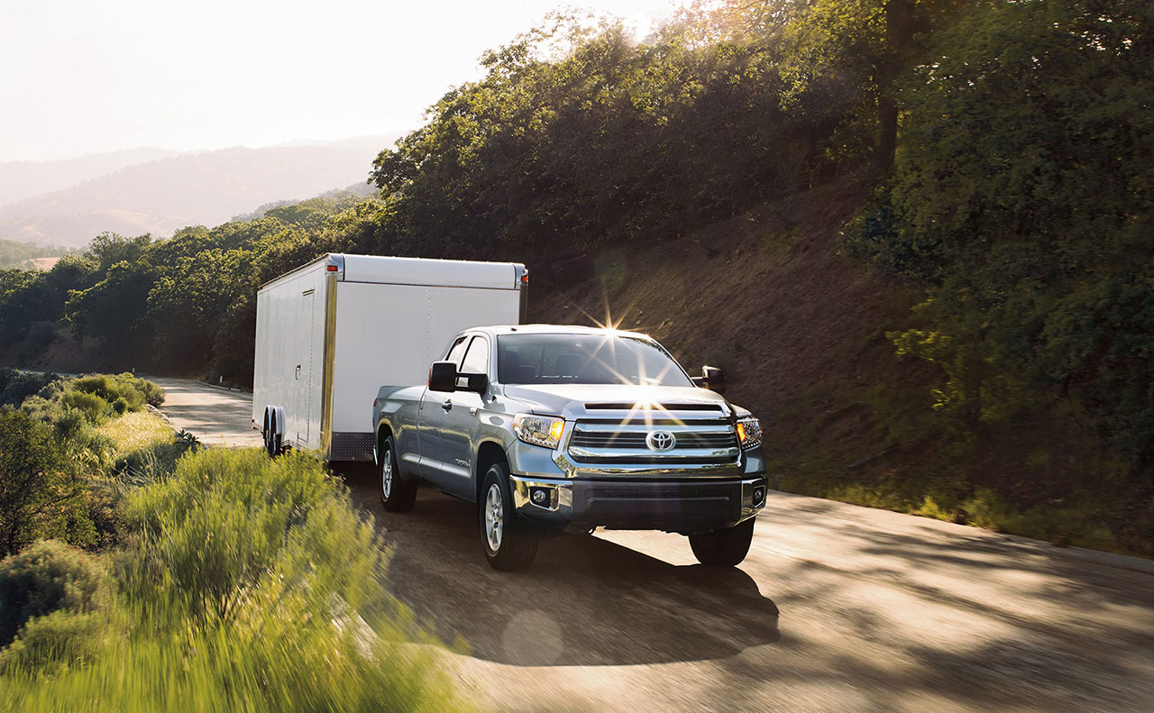 2016 toyota tundra exterior truck trailer