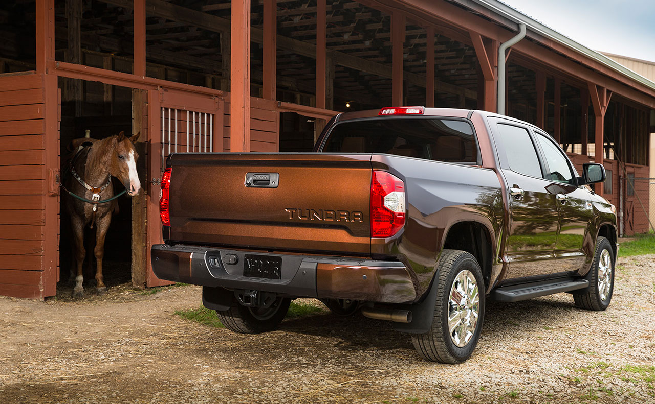 2016 toyota tundra exterior vibrant view rear tailgate