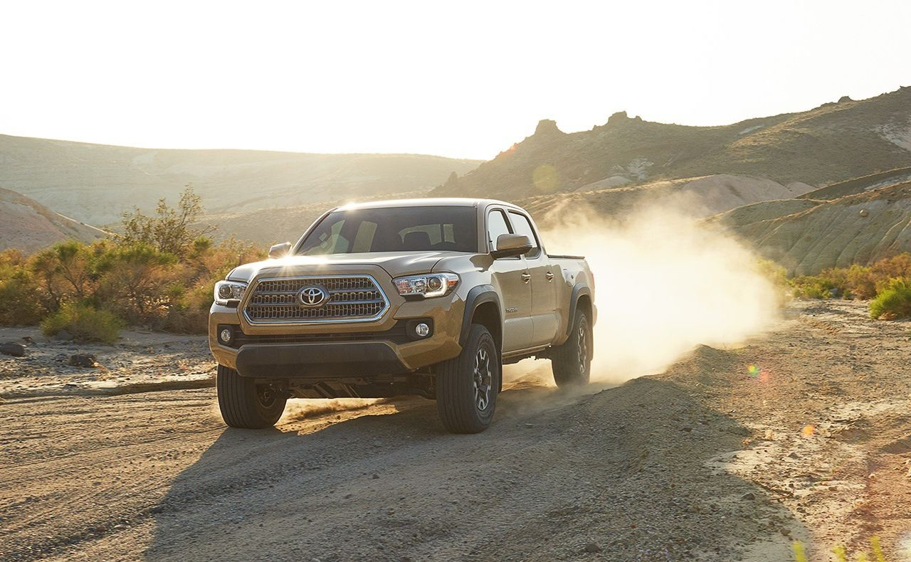 2017 toyota tacoma exterior brown grille drive
