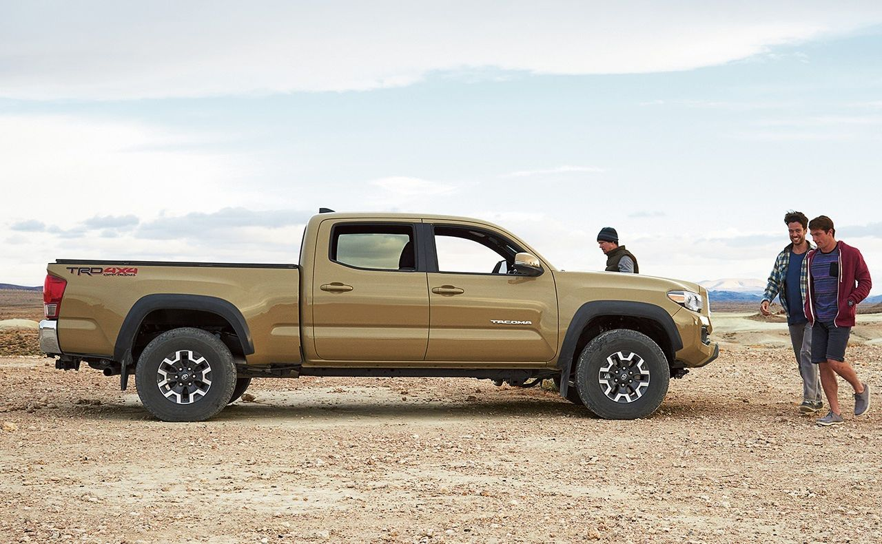 2017 toyota tacoma exterior side doors wheels