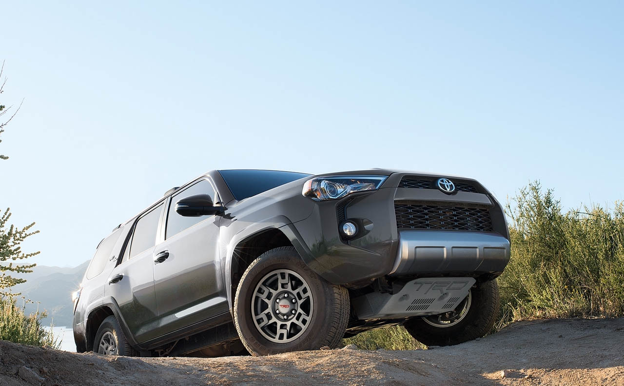 2018 toyota 4runner exterior gray wheels