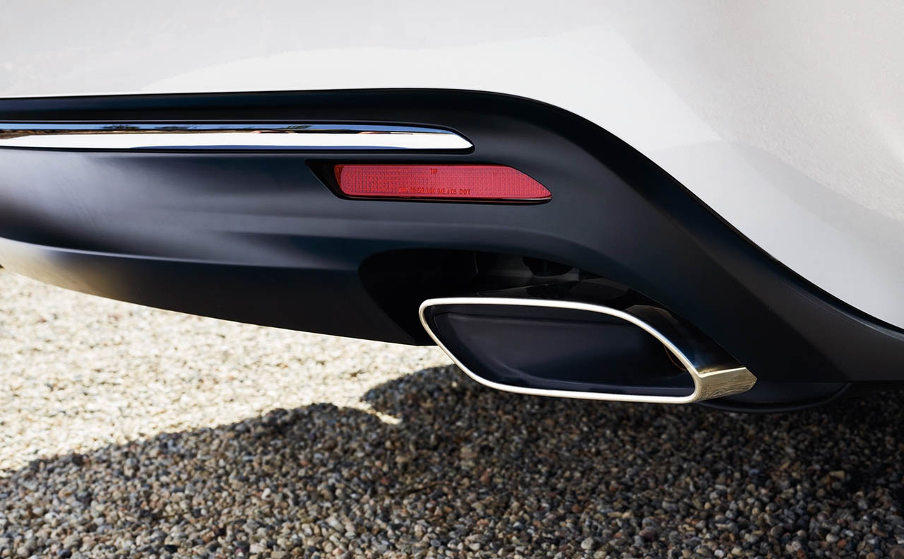 2018 toyota avalon exterior exhaust