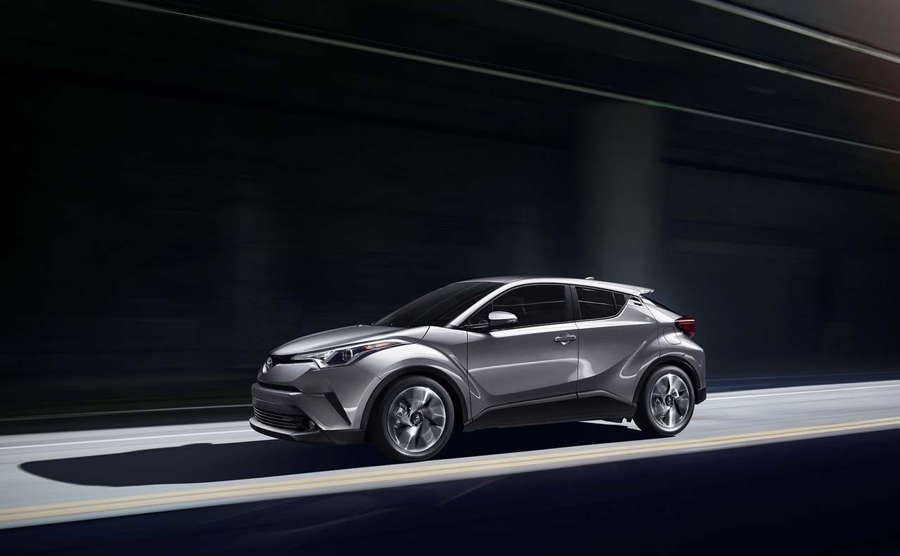 2017 toyota chr exterior left side