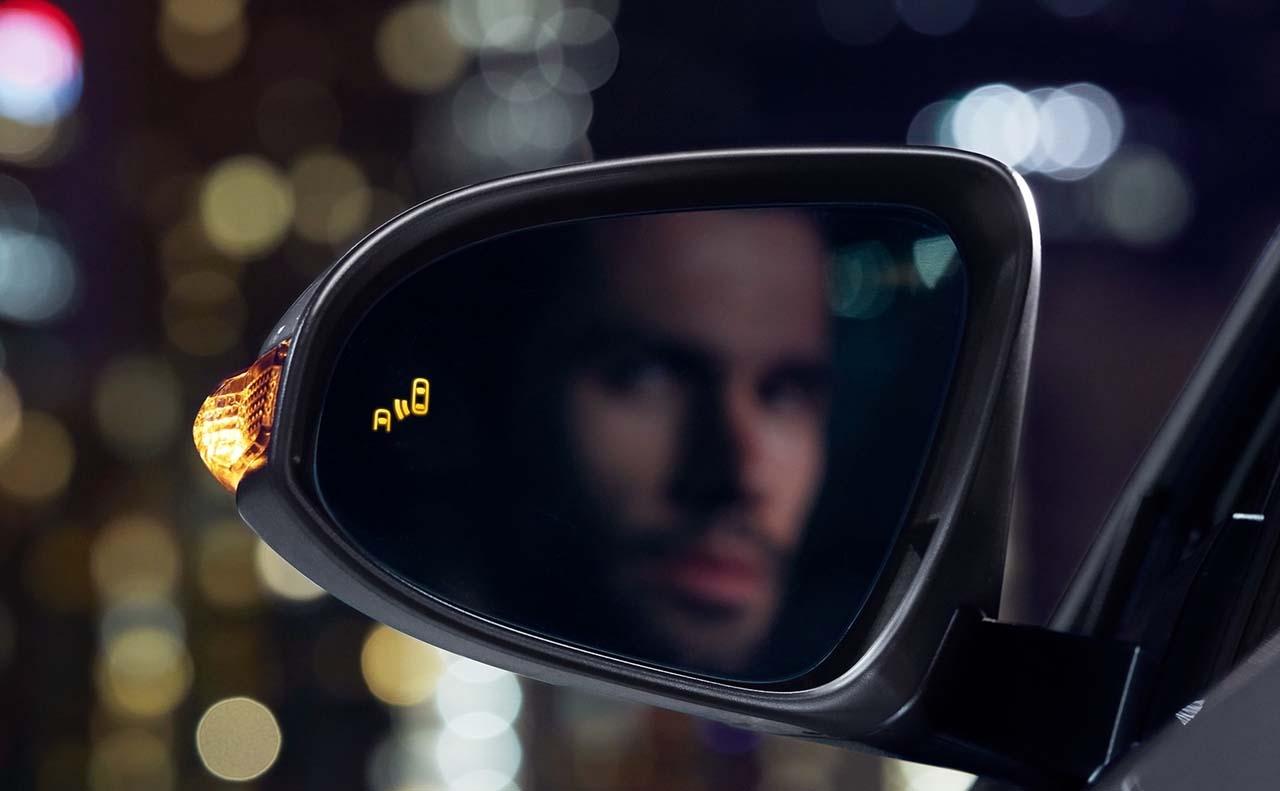 2017 toyota chr exterior side mirror