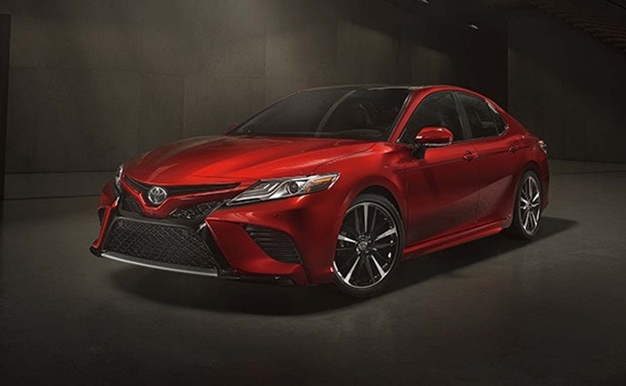 2018 toyota camry exterior front left