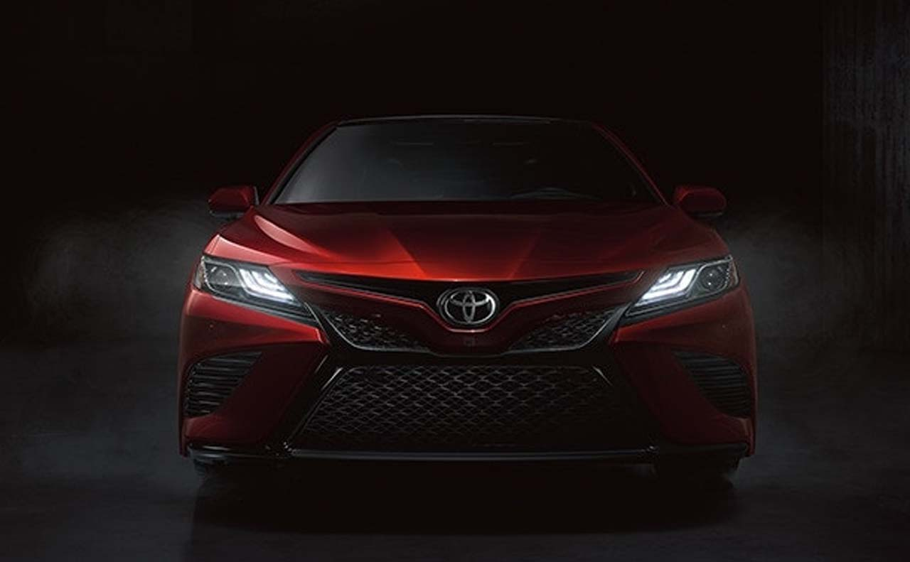 2018 toyota camry exterior grille