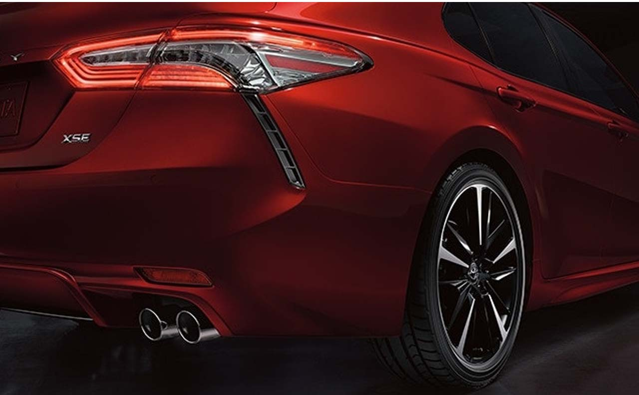2018 toyota camry exterior rear