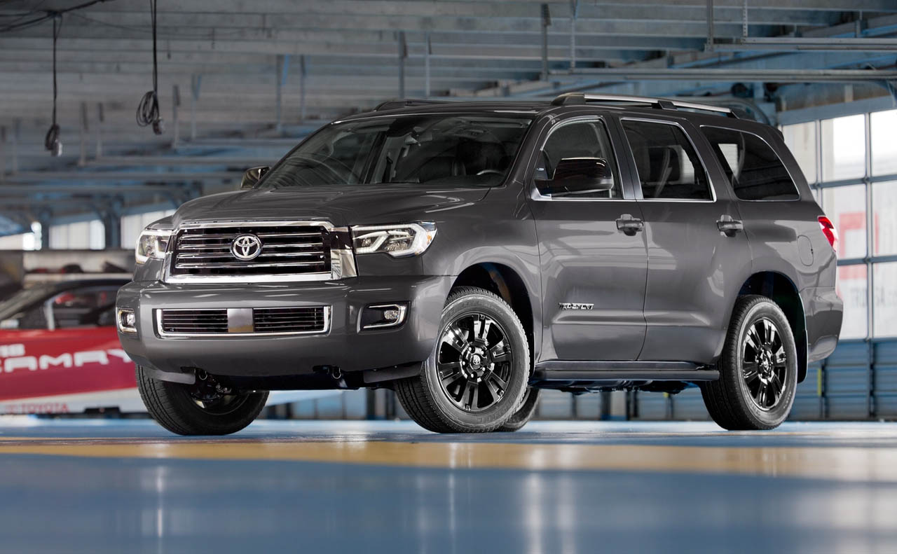 2018 toyota sequoia exterior grille chrome rims gray
