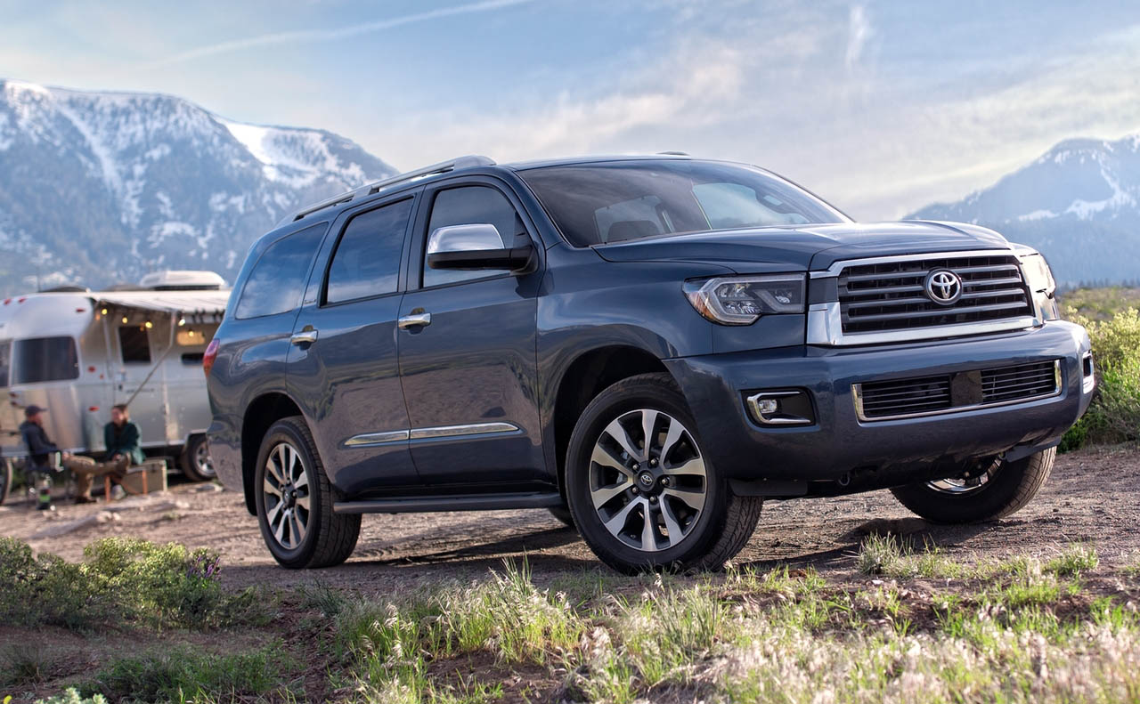 2018 toyota sequoia near central la all star toyota of baton rouge. Black Bedroom Furniture Sets. Home Design Ideas