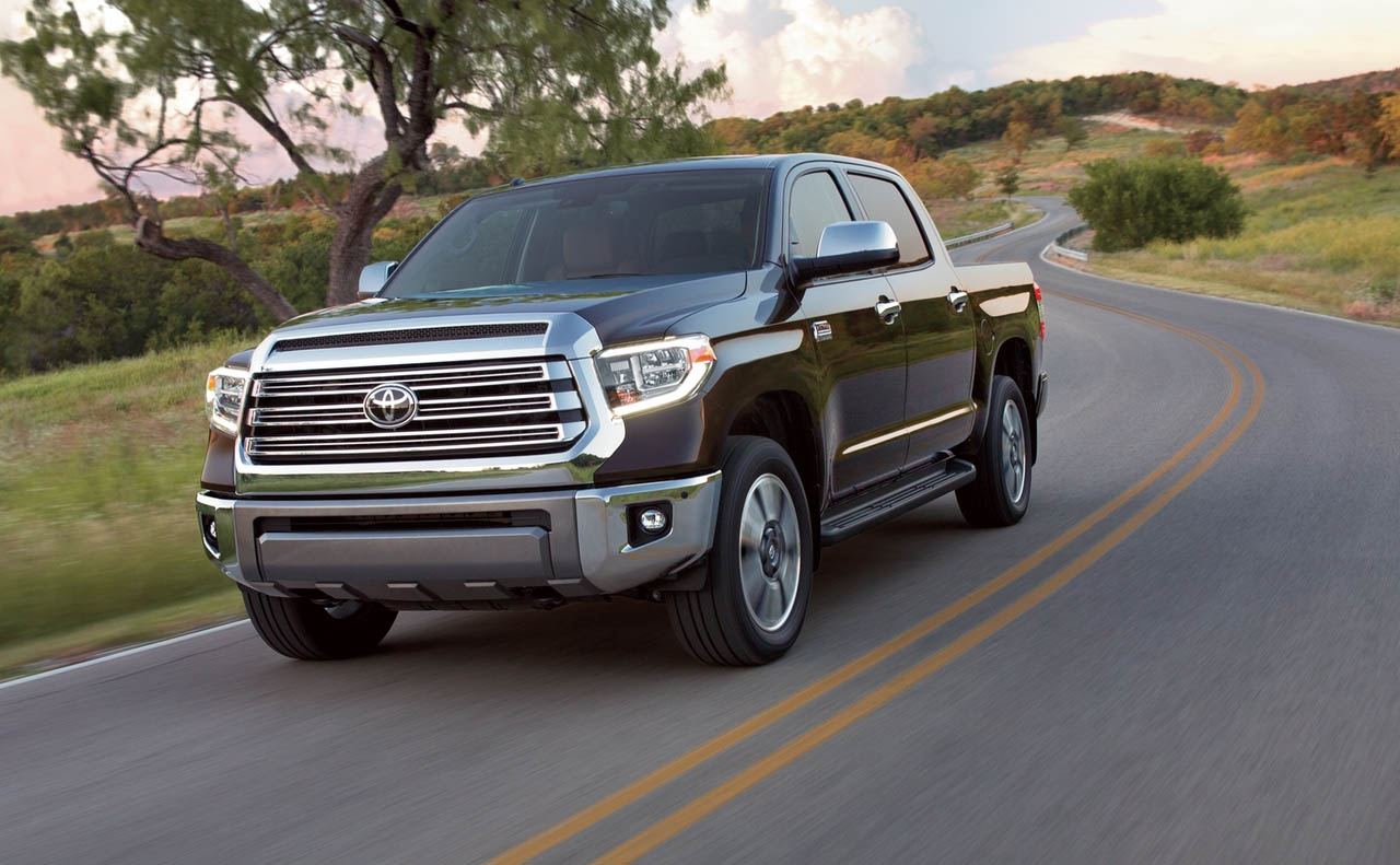 2018 toyota tundra exterior chrome grille wheels