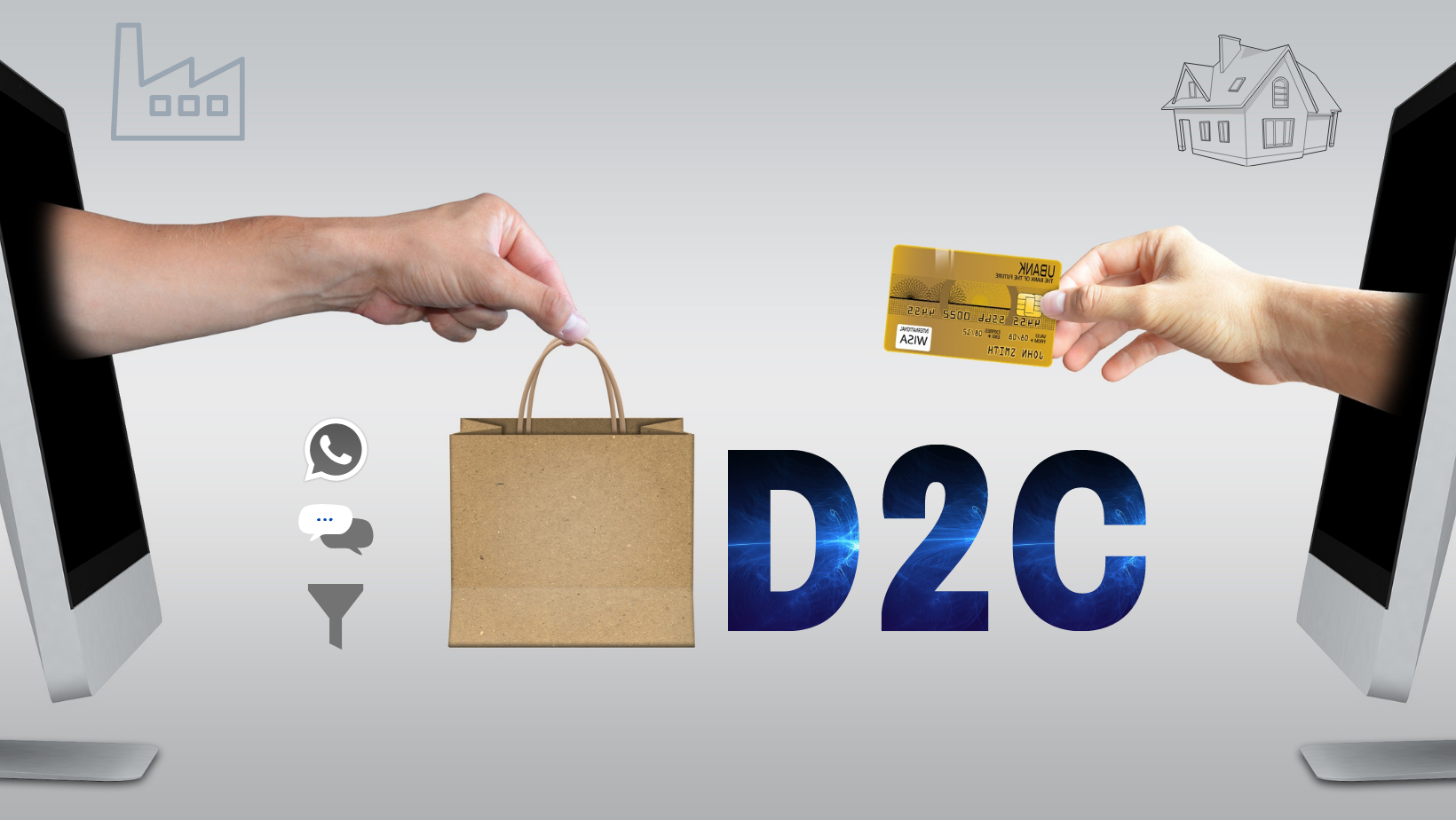 How D2C businesses can benefit from WhatsApp Business + Lead Management + Live Chat