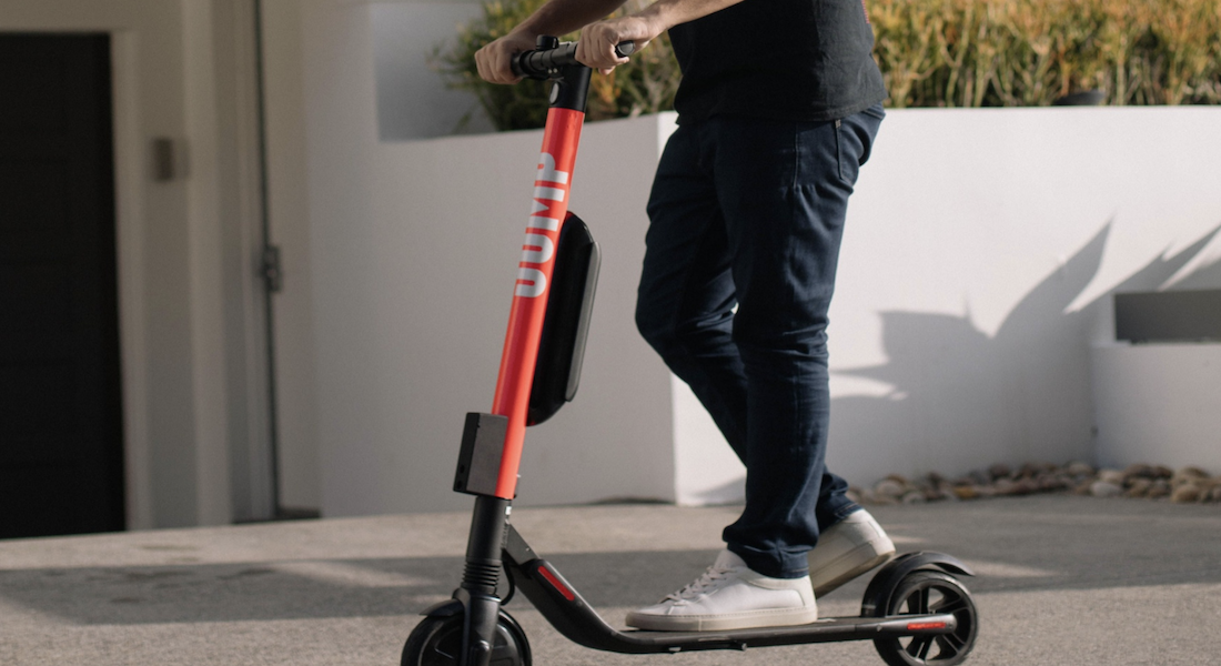 Uber Launches Scooter Service In California