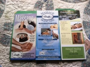 How Rack Cards Can Help Your Massage or Skincare Business Grow