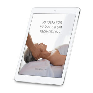 50 Ideas for Massage & Spa Promotions Ebook