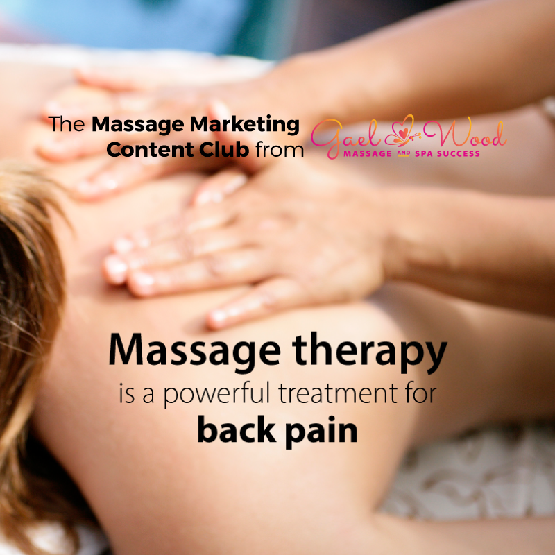Massage Marketing Content Club Sample Article