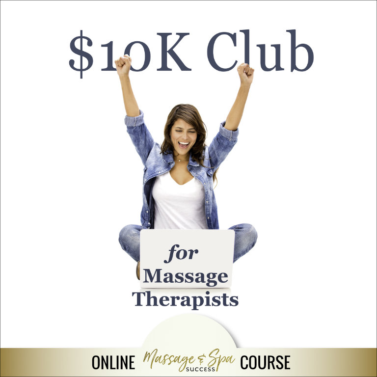 The 10K Club for Massage Therapists 6 Week Online Class