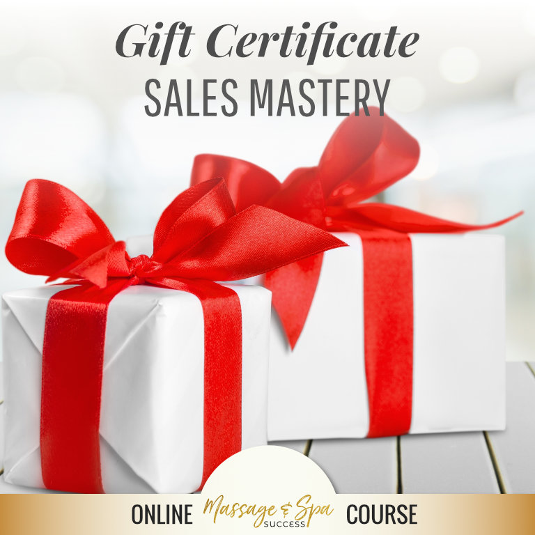 Gift Certificate Sales Mastery