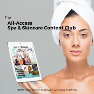 All-Access Spa & Skincare Content Club, spa memes, spa blog articles, and more!