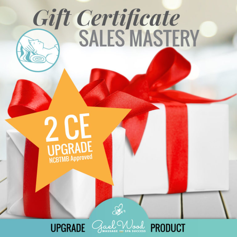 Gift Certificate Sales Mastery 2CE Upgrade