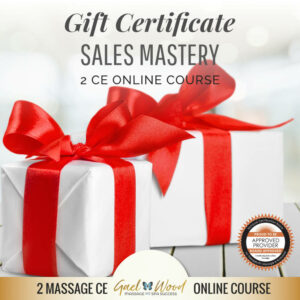 Gift Certificate Sales Mastery 2 CE Online Course