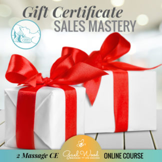 Gift Certificate Sales Mastery 2 CE Online Class
