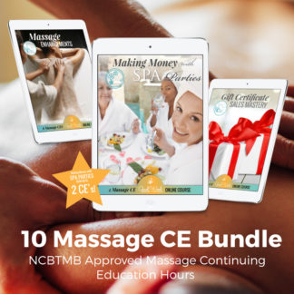 10 Massage CE Bundle
