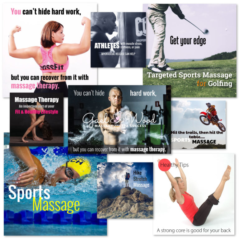 Sports Massage Marketing Content Package