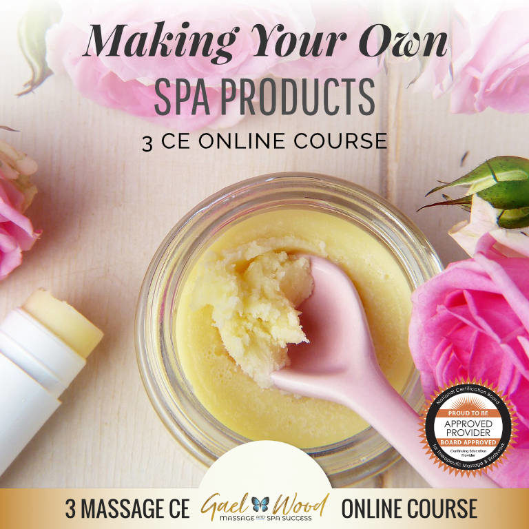 Making Your Own Spa Products 3 CE Online Course