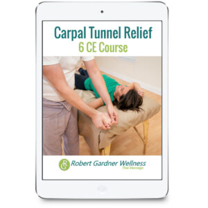 Carpal Tunnel Relief 6 CE Course from Robert Gardner