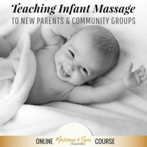 Teaching Infant Massage to New Parents and Community Groups