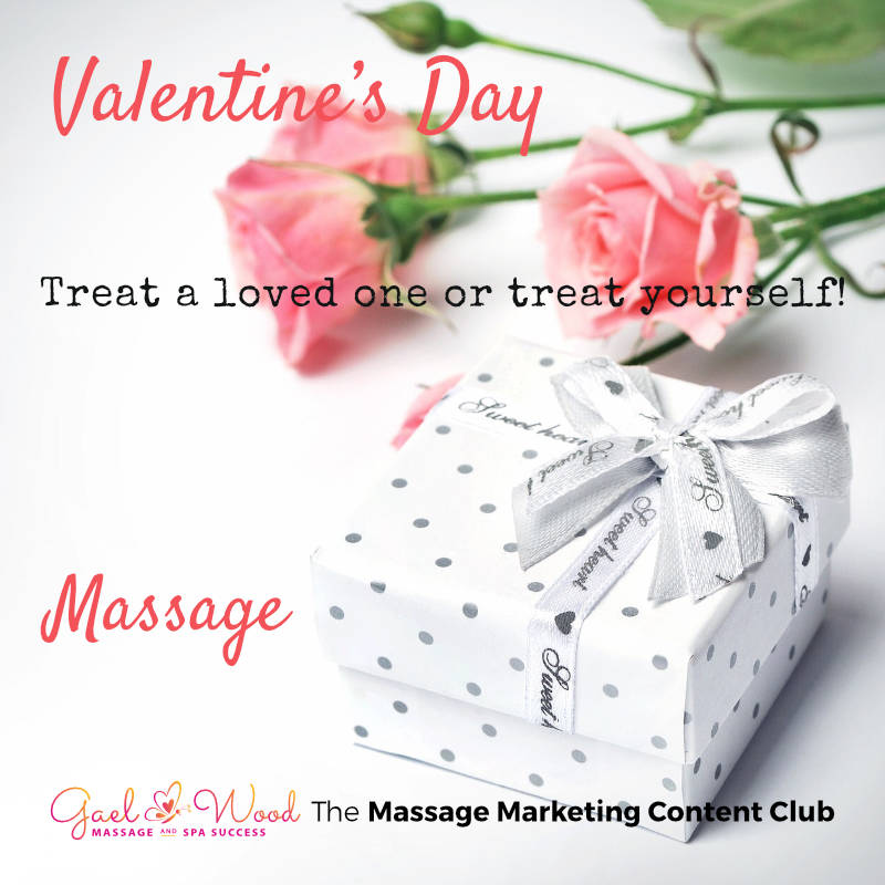 Valentine's Day - Treat a loved one or treat yourself to a Massage