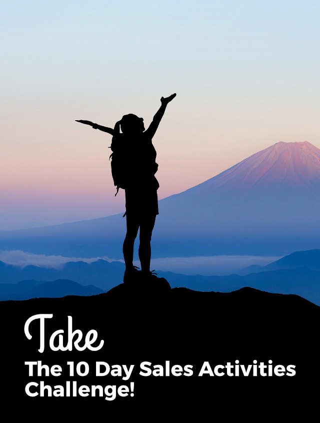 Take the 10 Day Sales Activities Challenge!
