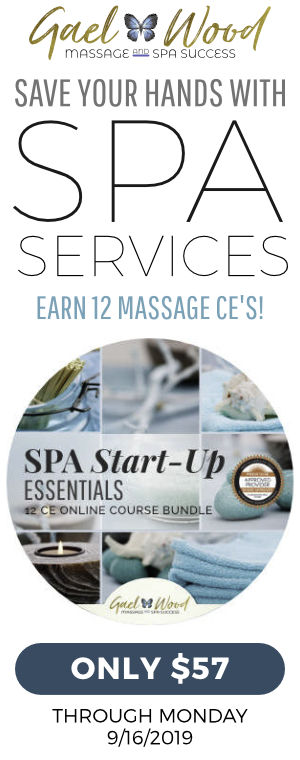Save your hands with Spa Services & Earn 12 NCBTMBT Approved Massage CE's for only $57 through Monday September 16, 2019!