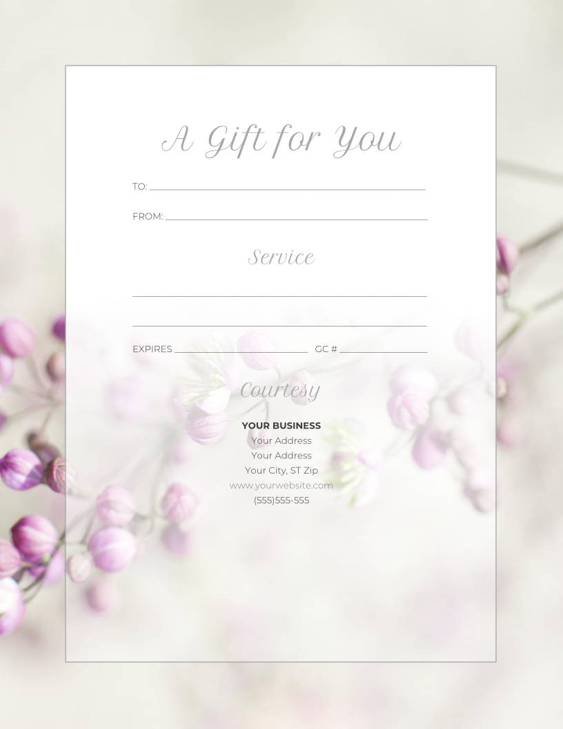 5 Ways to Make Your Gift Certificates Extra Special This Year