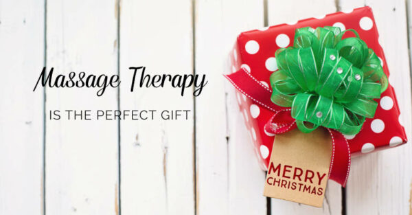 Massage Therapy is the perfect gift