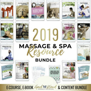 2019 Massage and Spa Resource Bundle