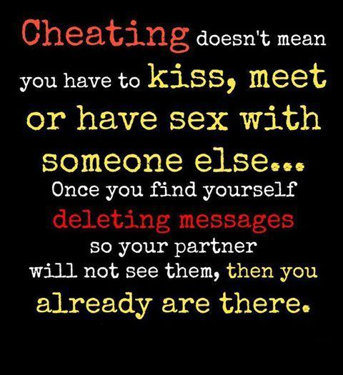 physical relationship vs emotional is like cheating