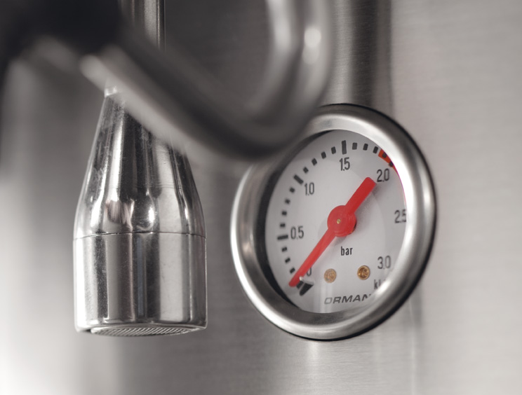 Close Up Photo of Pressure Gauge
