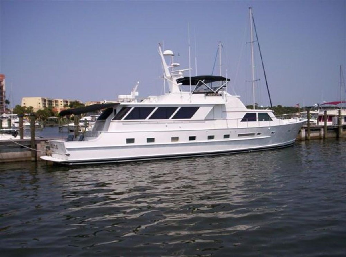1980 BROWARD Raised Pilothouse For Sale