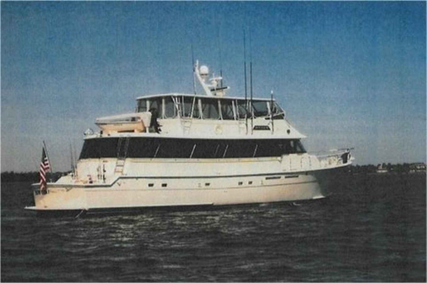 1985 HATTERAS  For Sale