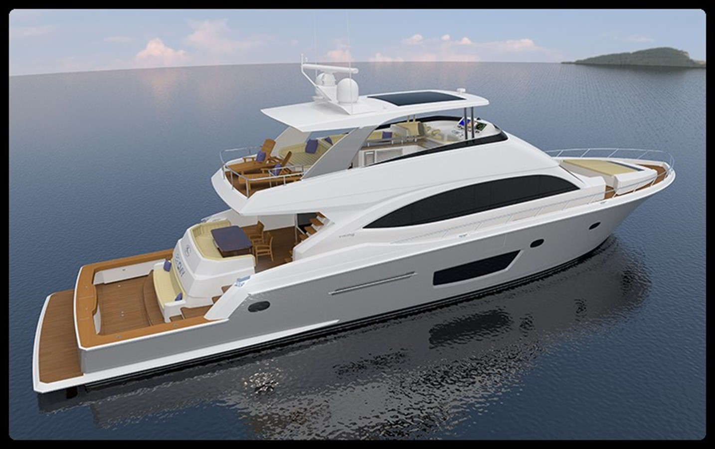2018 VIKING Cockpit Motor Yacht For Sale