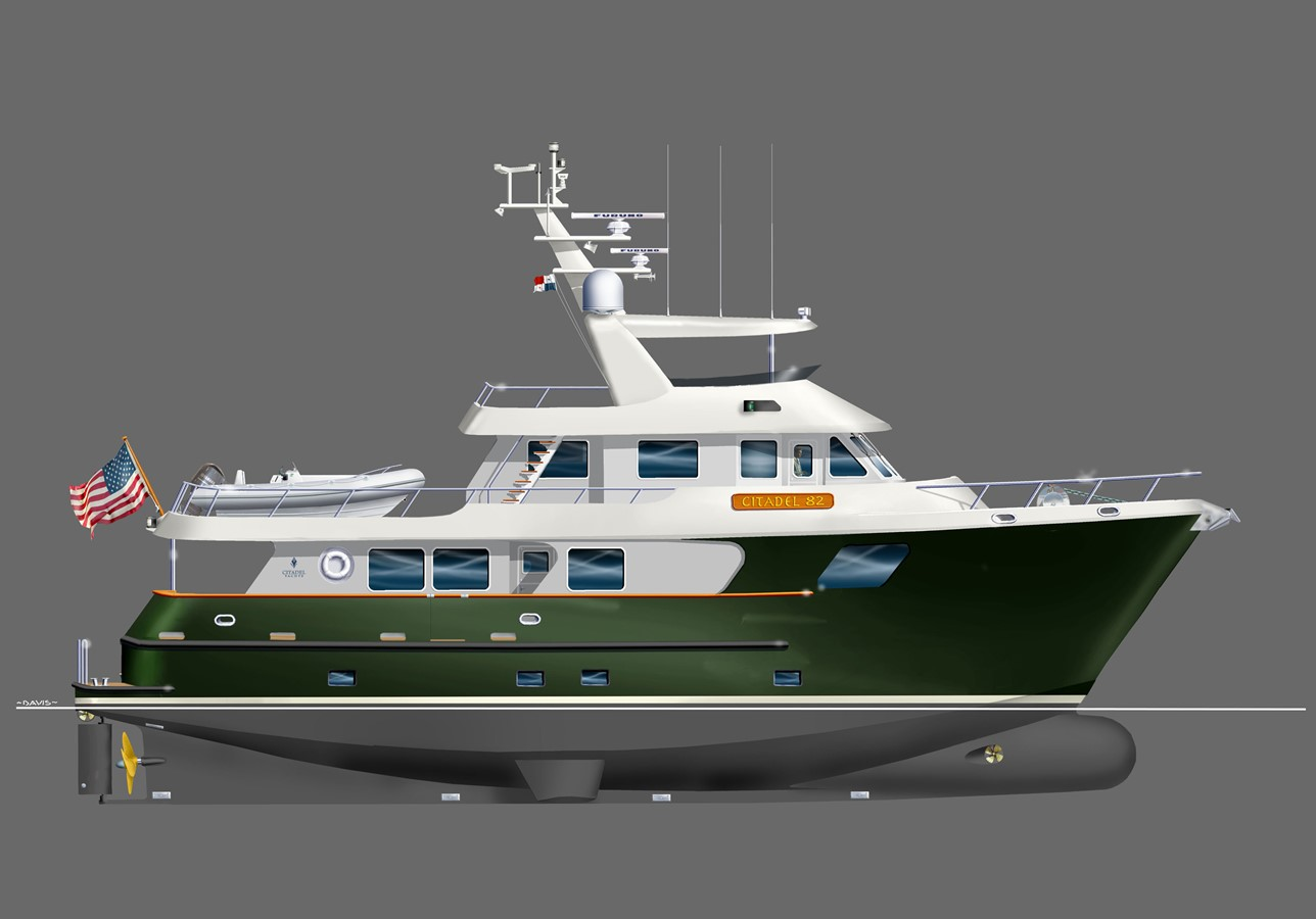 2020 CITADEL YACHTS Citadel 82 For Sale