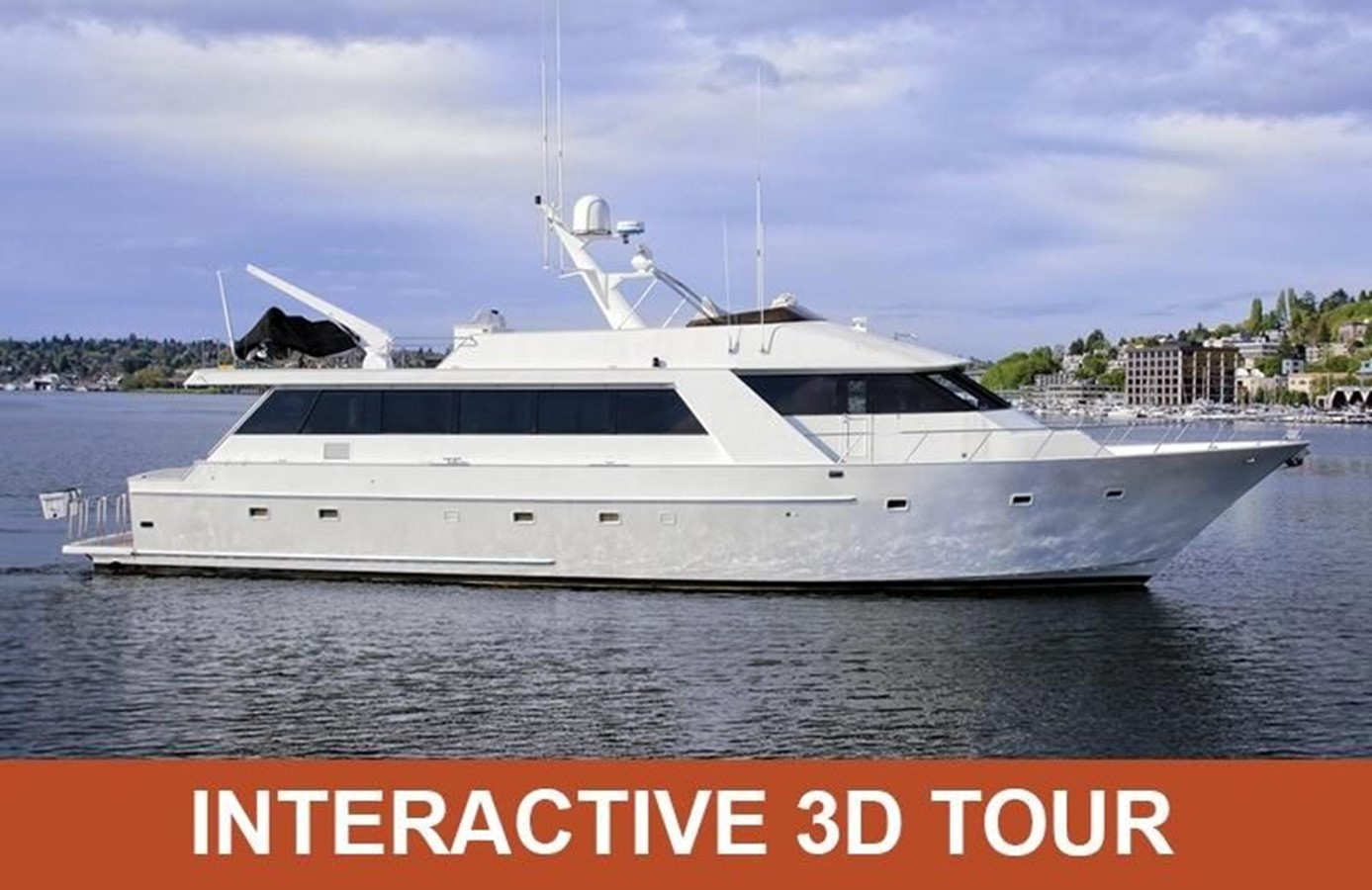 1989 MCQUEEN Westport Pilothouse For Sale