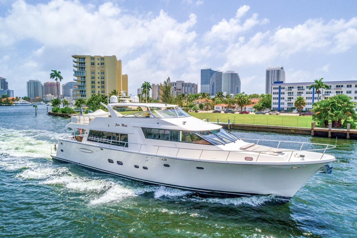 2008 PACIFIC MARINER Pilothouse Motor Yacht For Sale